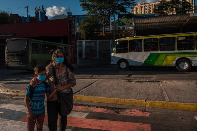 March 17th, during the second day of quarantine in Caracas. Credit: Adriana Loureiro Fernández for The New York Times